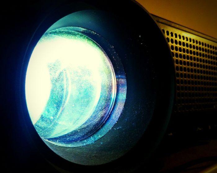 Technology Close-up Illuminated Proyector Objetivo Lente Lens Light Light And Shadow