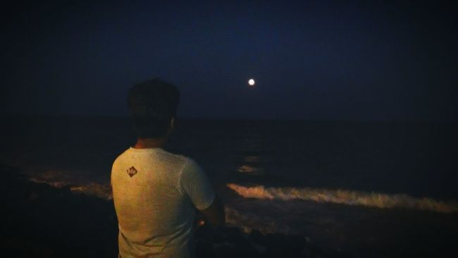 Sea And Sky Ocean In Search Of Incredible From My Point Of View Showcase:December That's Me Full Moon