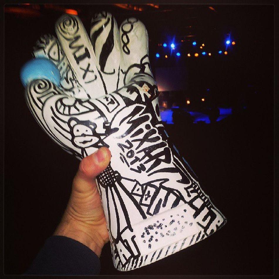 Ich habe ein Preis gewonnen Mixart 2013 Columbiahalle