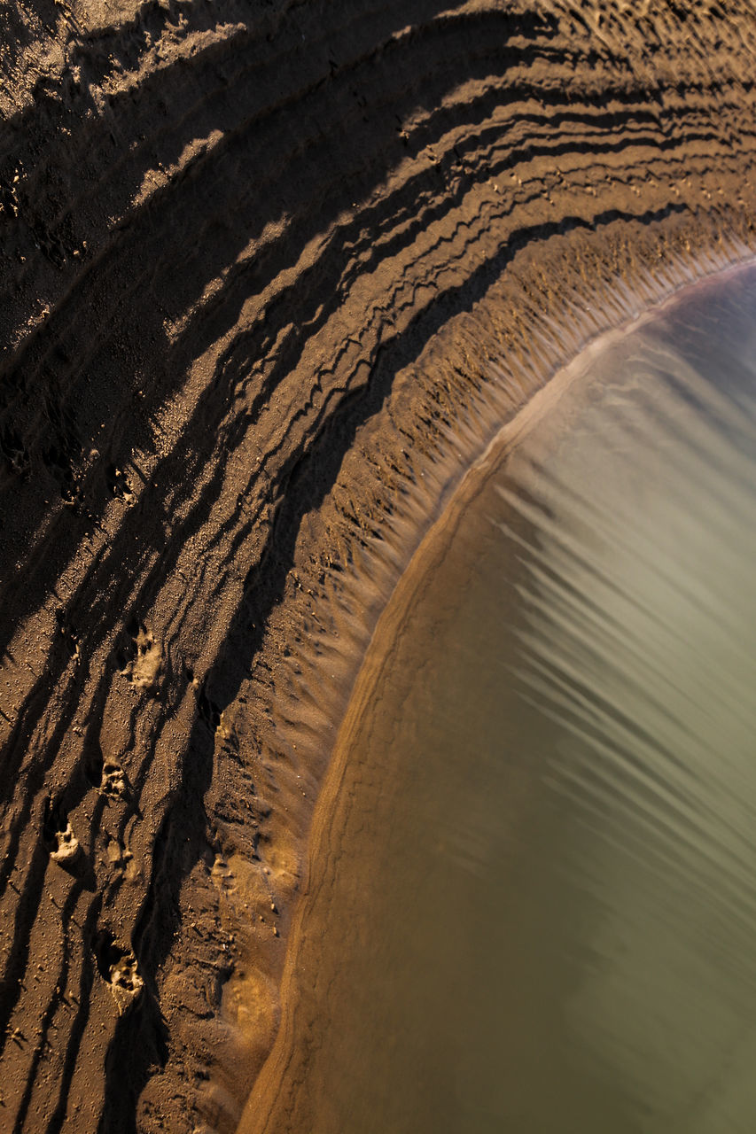 Close-Up Of Sand Dune