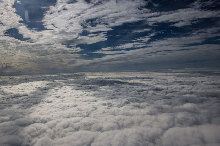 Heaven Aerial View Beauty In Nature Cloud - Sky Cloudscape Day Depth Of Field Fluffy Clouds Nature No People Outdoors Scenics Sky Tranquil Scene Tranquility Weather