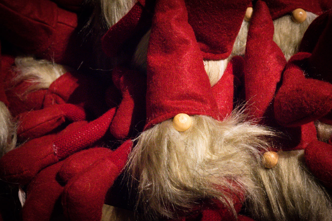 Beard Christmas Danmark Decoration Indoors  Nisse Nose Red Red Color