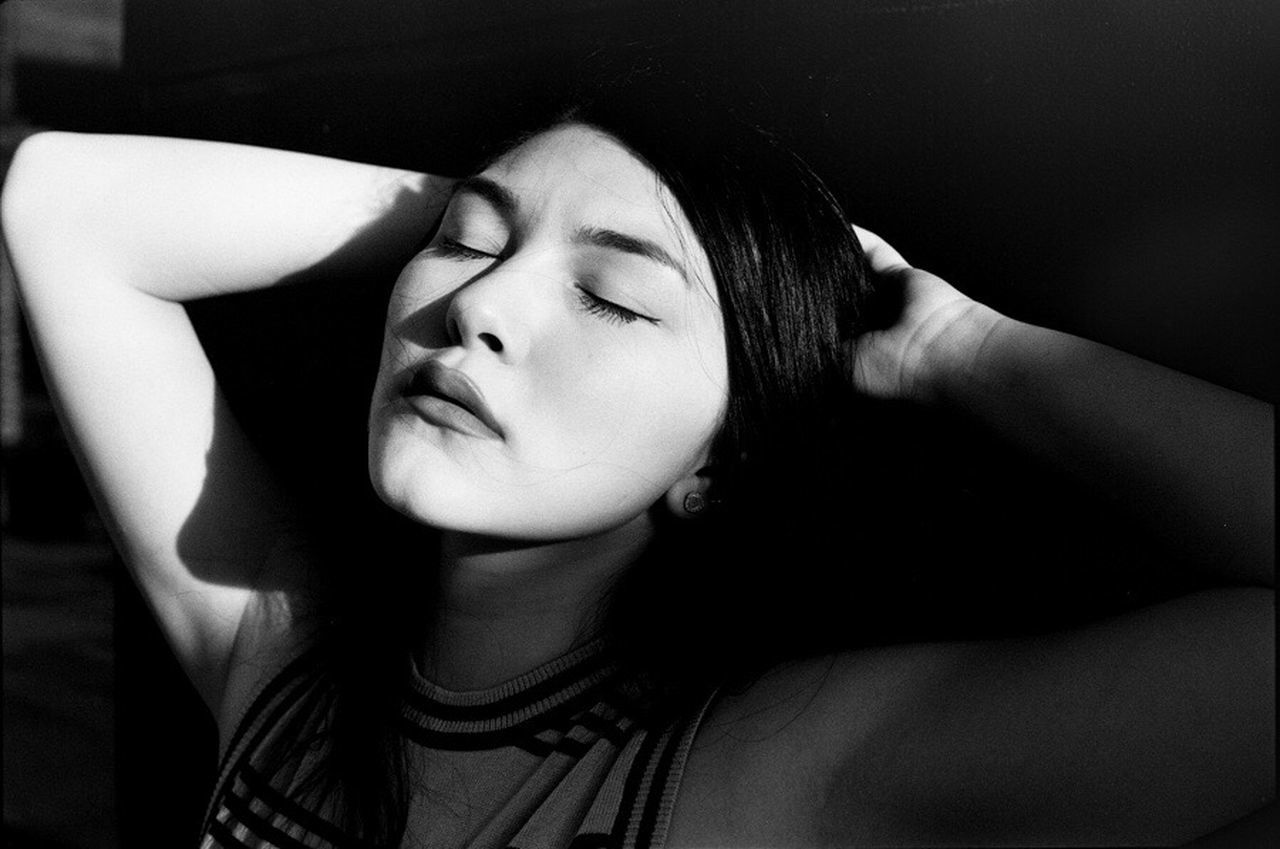 Tomi Light And Shadow Shadows Contrast Analogue Photography Black And White Japanese Girls Model EyeEm Best Shots EyeEm Beautiful Check This Out Enjoying Life Pleasure Ecstasy