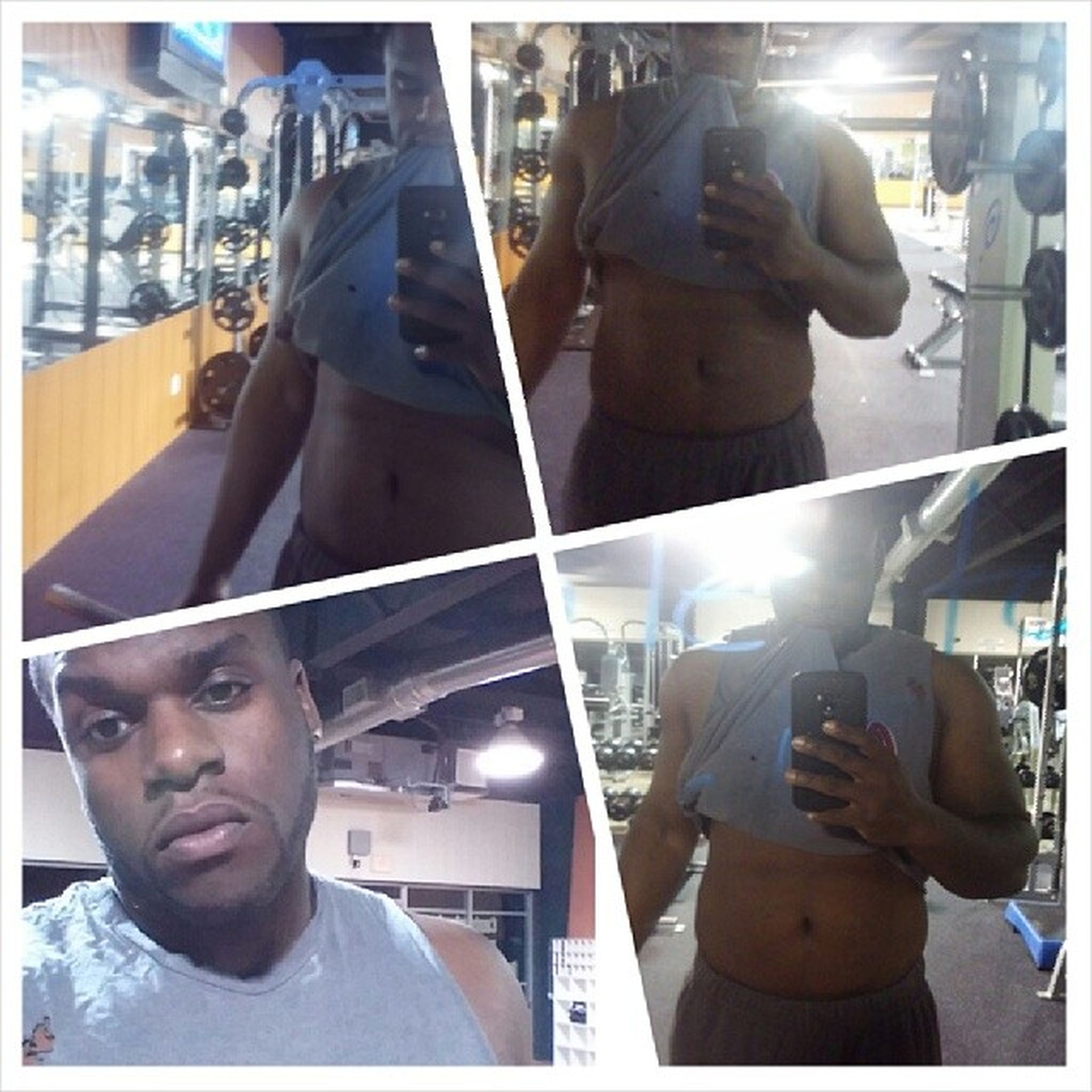 Late night workout, why the hell do abs take so long????? Stillonmy2pack KeepUp Comeon GymTime gains gymlife fit gymflow cardio sweat kingish