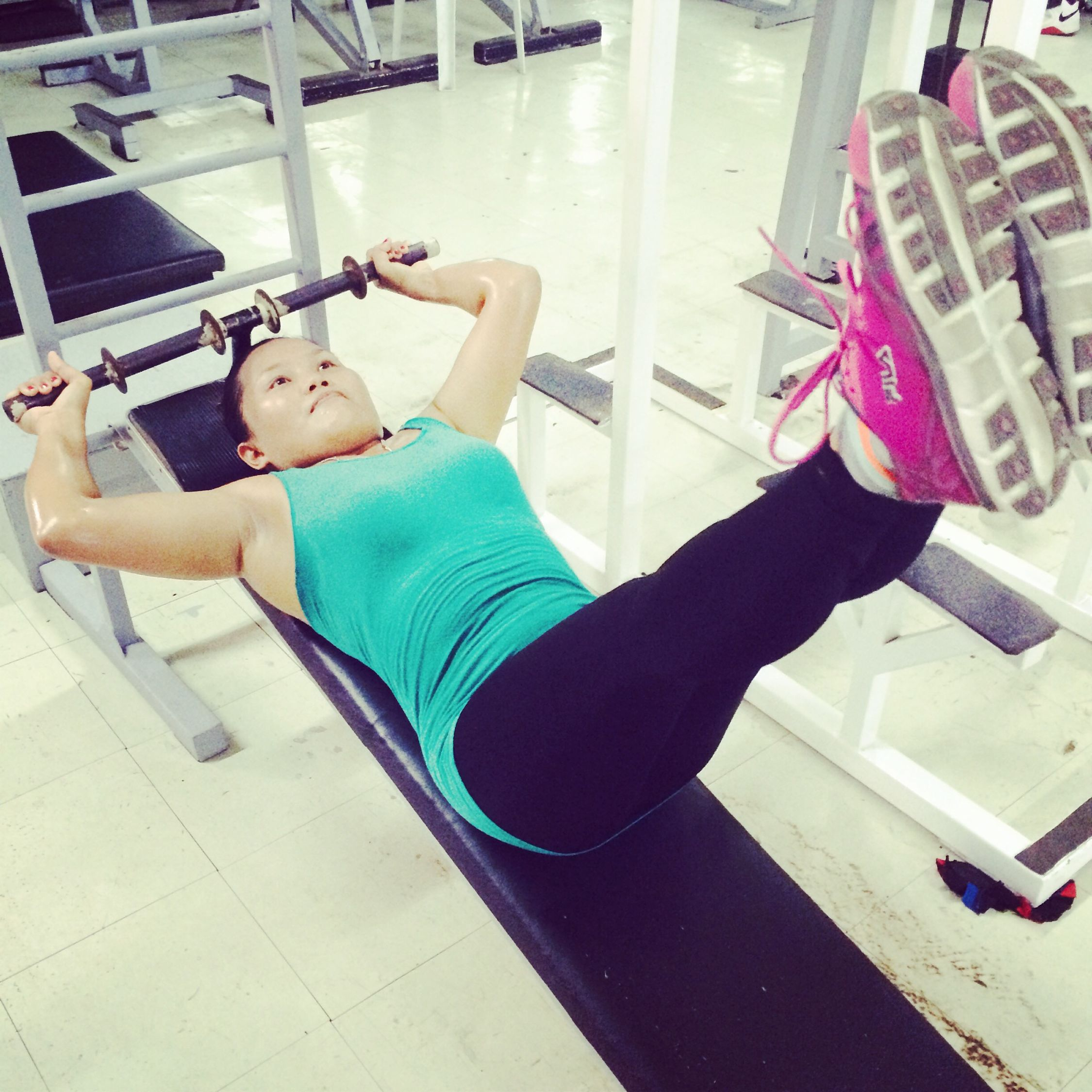 Working out! ????