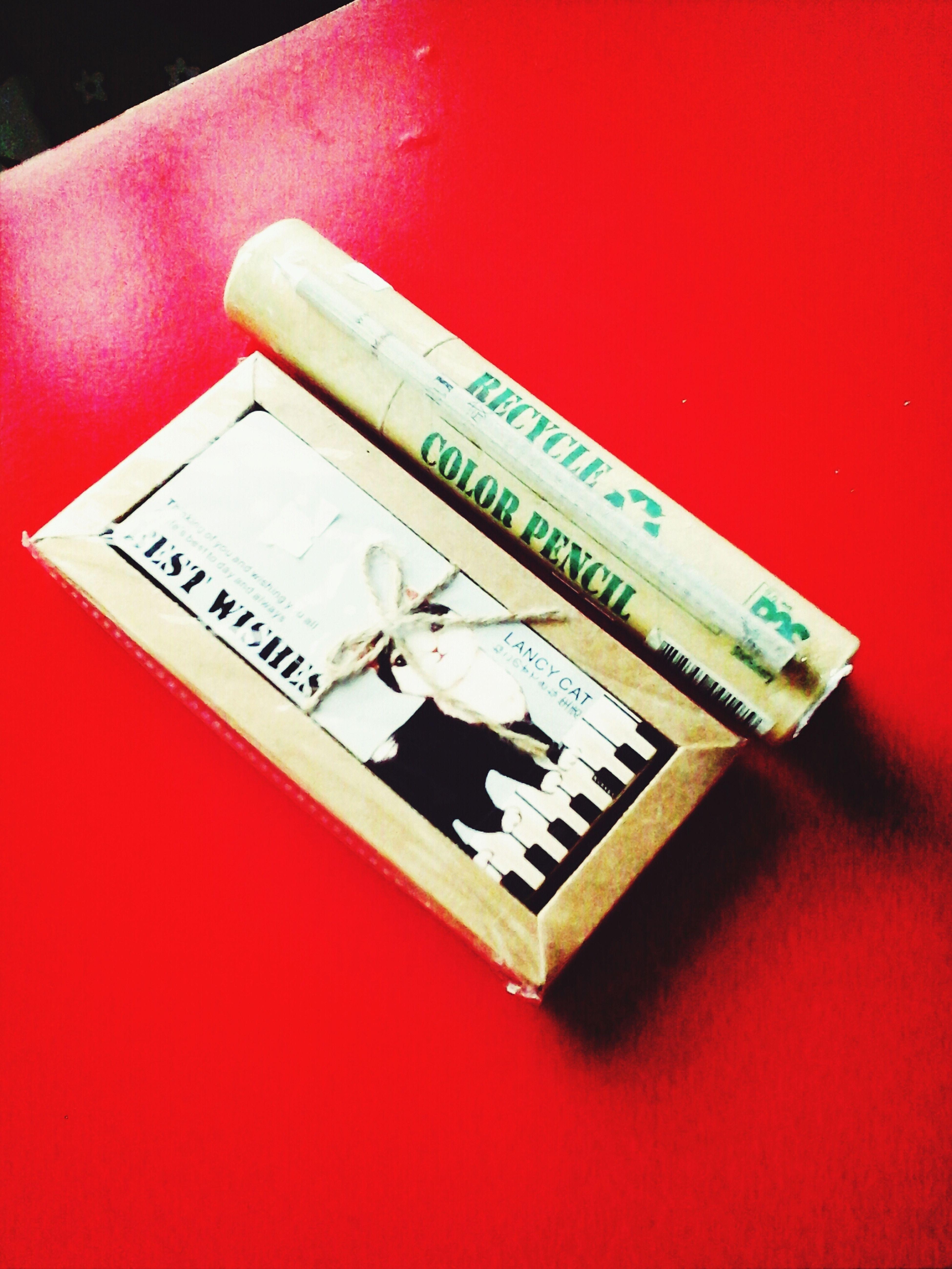 It's lovely gift from lovely teacher.iInspiration For Working Hard.. Fighting For Final.