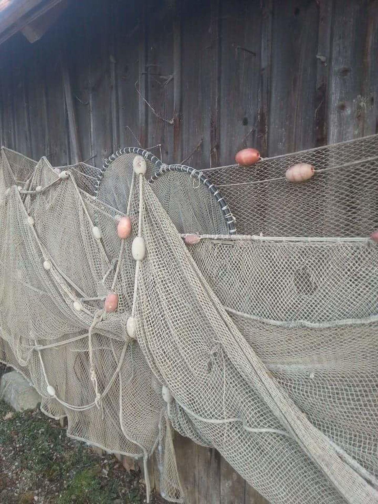 Fischernetz Diessenamammersee März2015