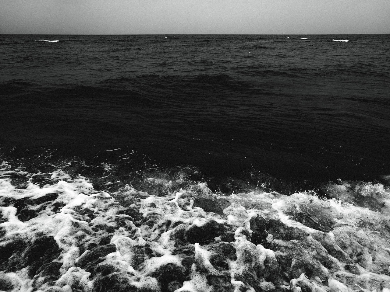 gone. Beach Beauty In Nature Clear Sky Day Horizon Over Water Idyllic Motion Nature No People Outdoors Power In Nature Remote Rippled Scenics Sea Sky Surf Tranquil Scene Tranquility Water Wave