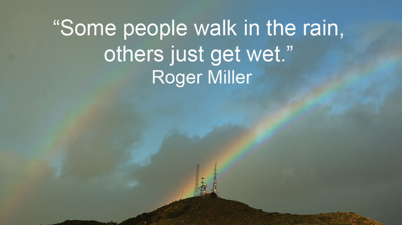 Watching for #rainbows likes these in aftermath of a storm in the #Fallbrook area, along with a #quote by #RogerMiller. Quotographs are worthy of a #repost. Double Rainbow Double Rainbows Quotes Rainbows Roger Miller S Storm