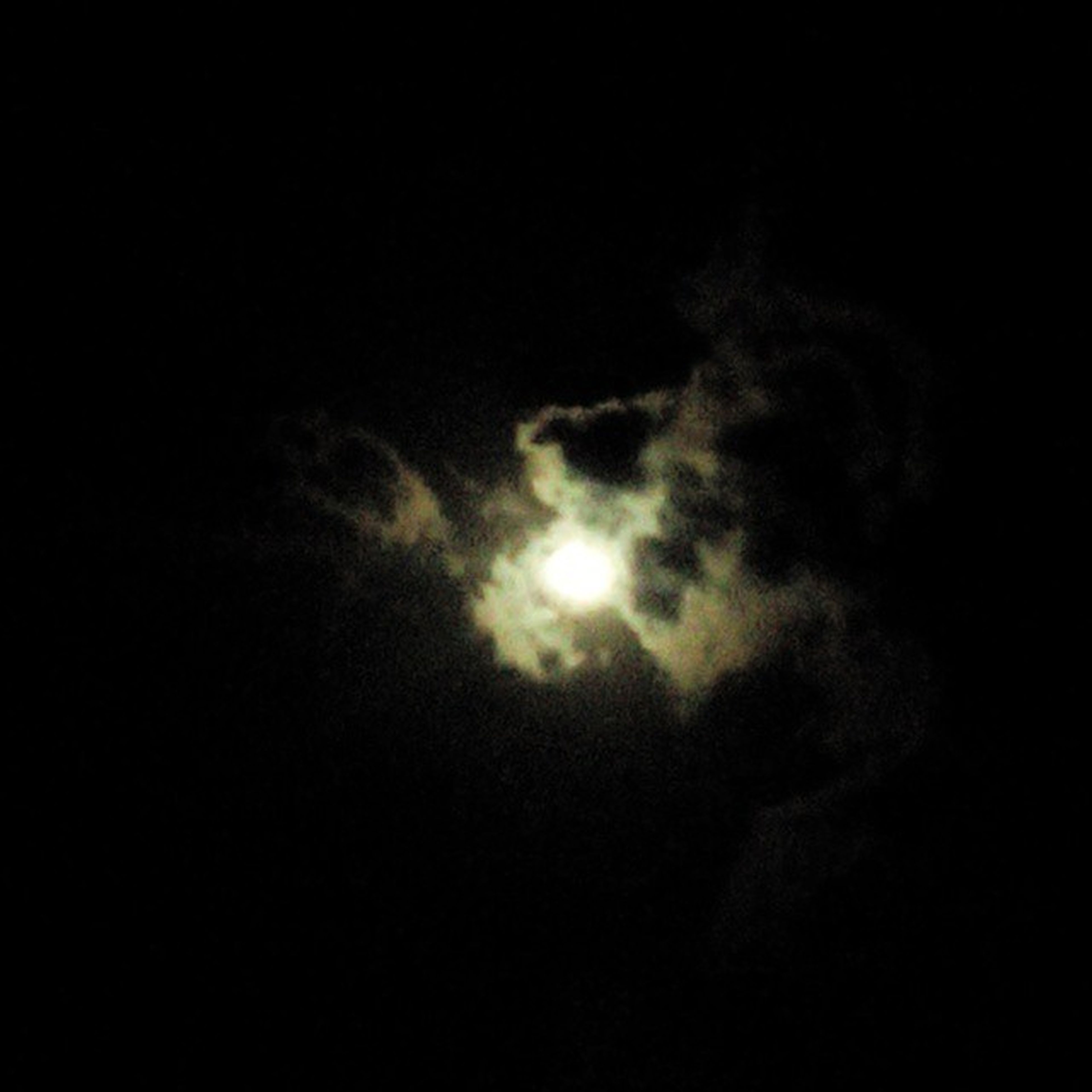 sky, low angle view, beauty in nature, scenics, tranquility, tranquil scene, cloud - sky, nature, silhouette, dark, night, sky only, idyllic, cloudy, copy space, majestic, weather, moon, outdoors, cloudscape