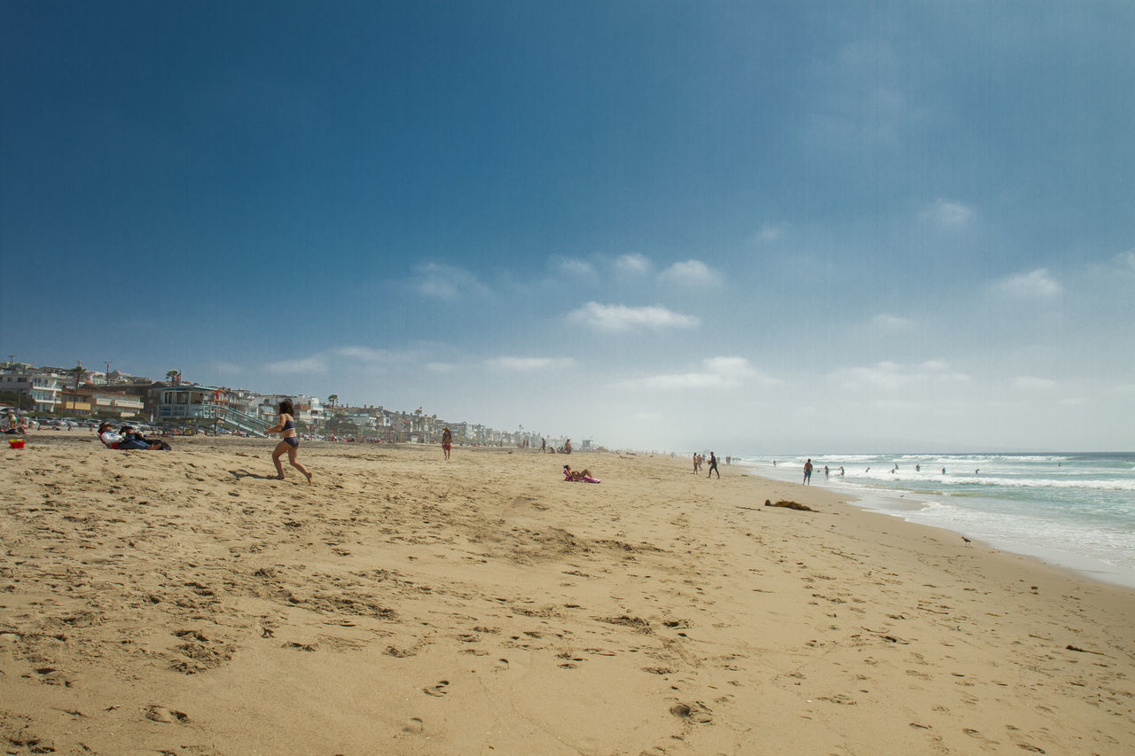Beautiful stock photos of los angeles, Beach, Beauty In Nature, Cloud - Sky, Day