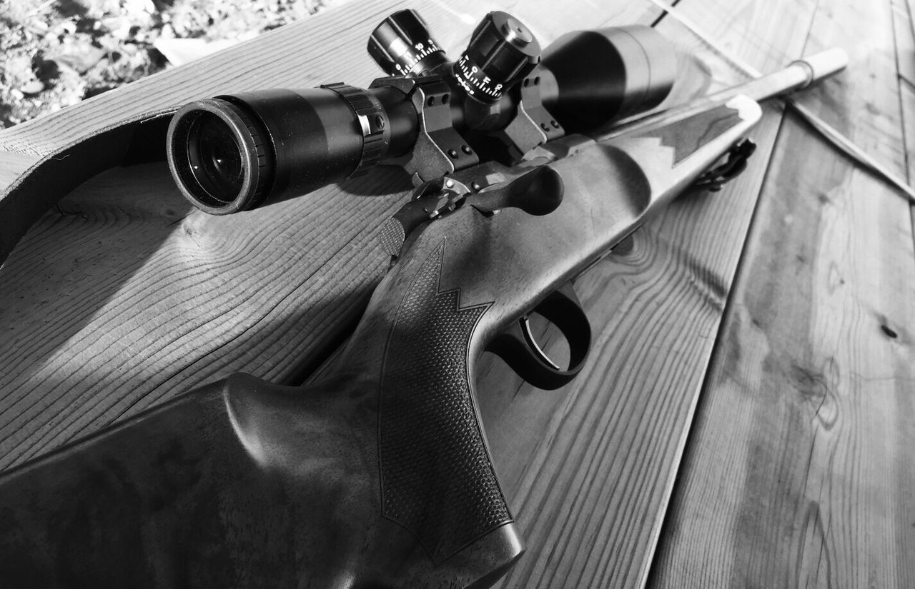 Close-up No People Day Indoors  Gun Rifle Blackandwhite Followme Hello World First Eyeem Photo Weapon
