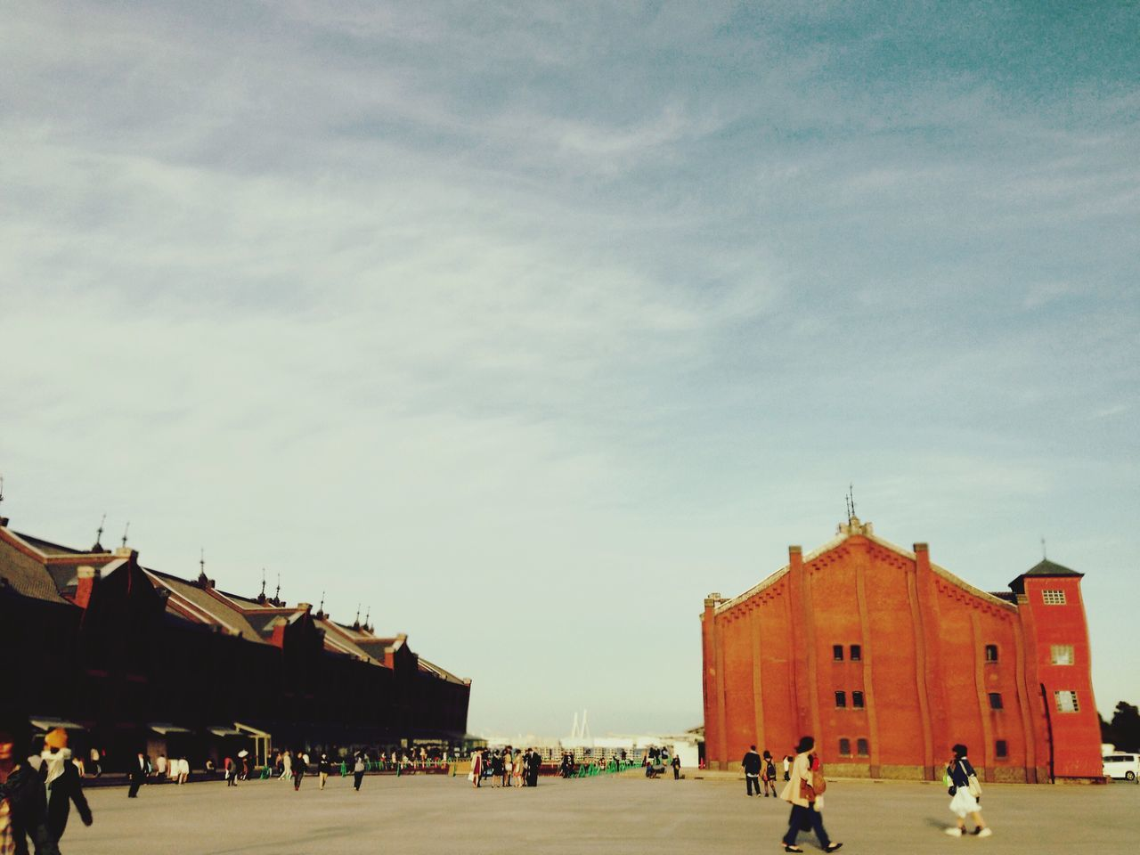 Yokohama Yokohama-shi Yokohama Sky Japan Brick Bricks Redbrick Redbricks Architecture Architecture_collection