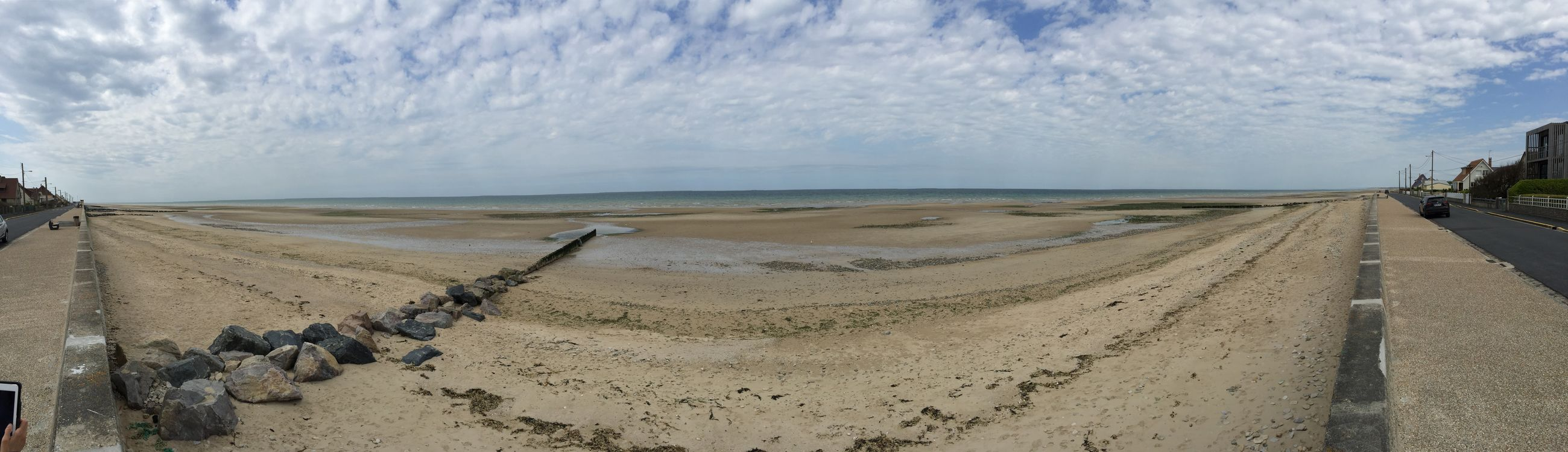 Monuments Photography Military Panorámica Normandie Dday Sea France War
