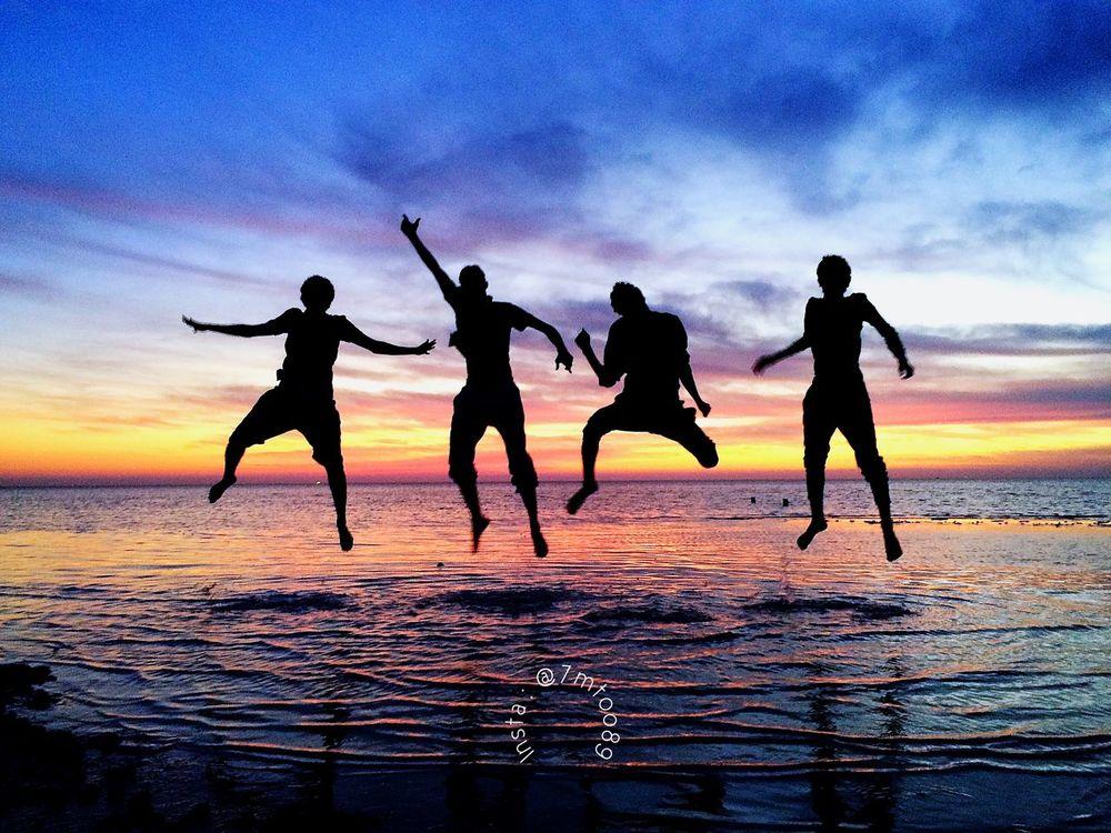 IPhoneography Sunset Silhouettes Hello World Enjoying Life Hello World Sky