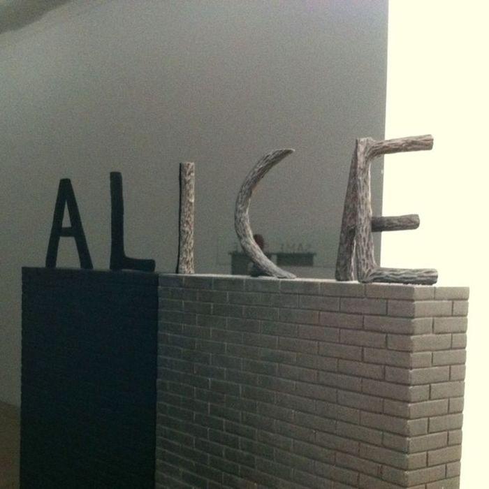 Alice - Markus Raetz #mamco Mamco