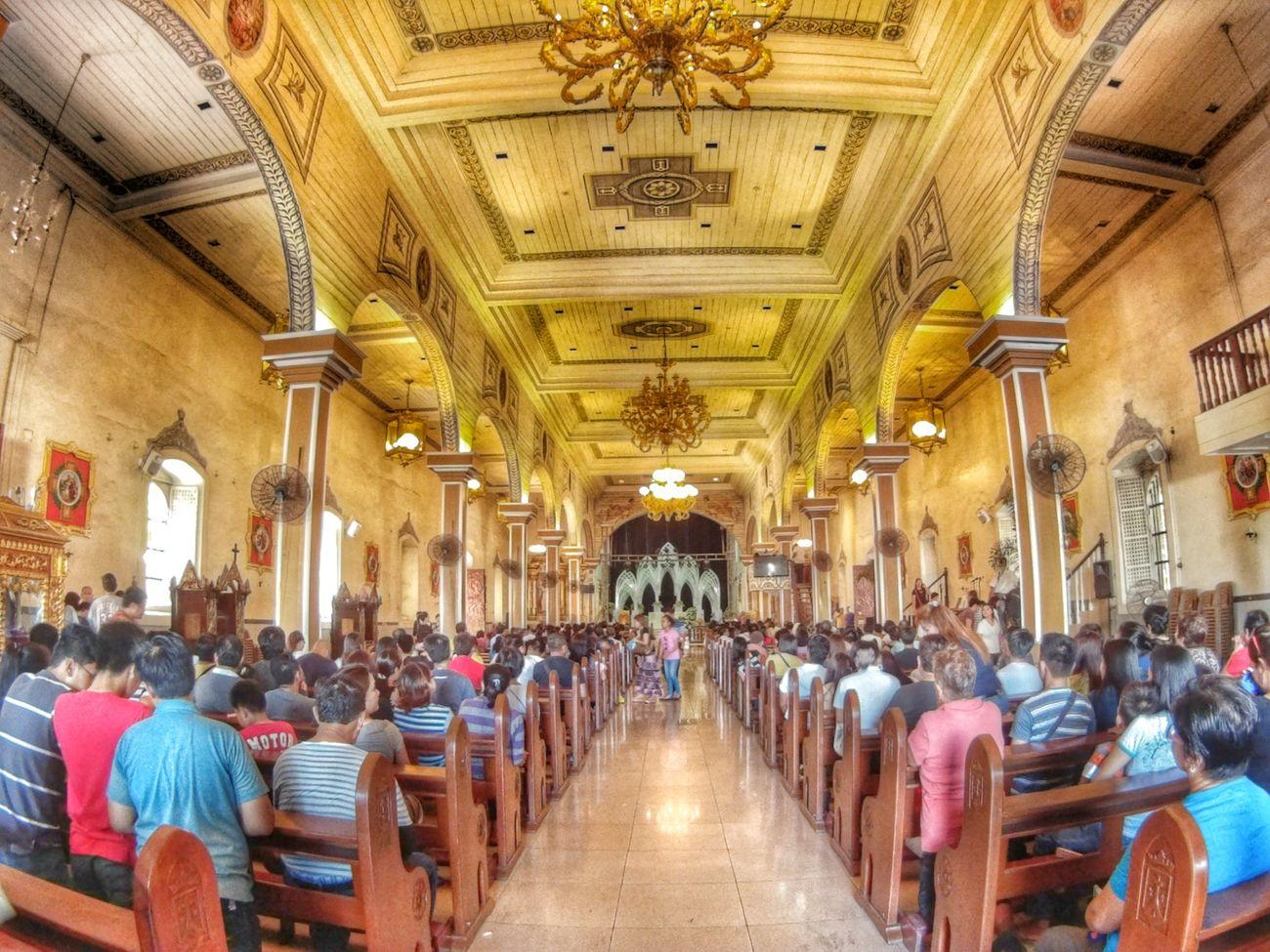 VisitaIgleaia2015 Lenten2015 Barasoain Church At Malolos Bulacan