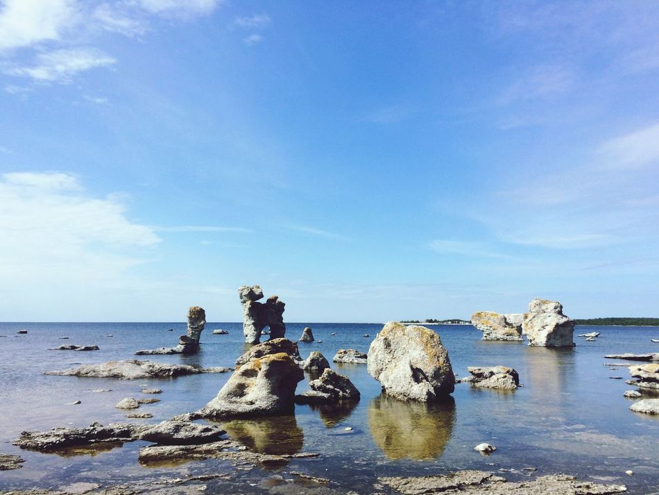 Beautiful stock photos of sweden, Beach, Beauty In Nature, Blue, Day