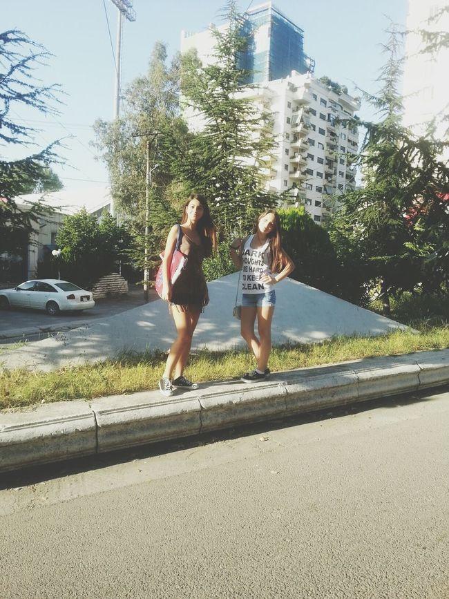 Bestfriend Walking Around Tirana Albania #pikuvapes