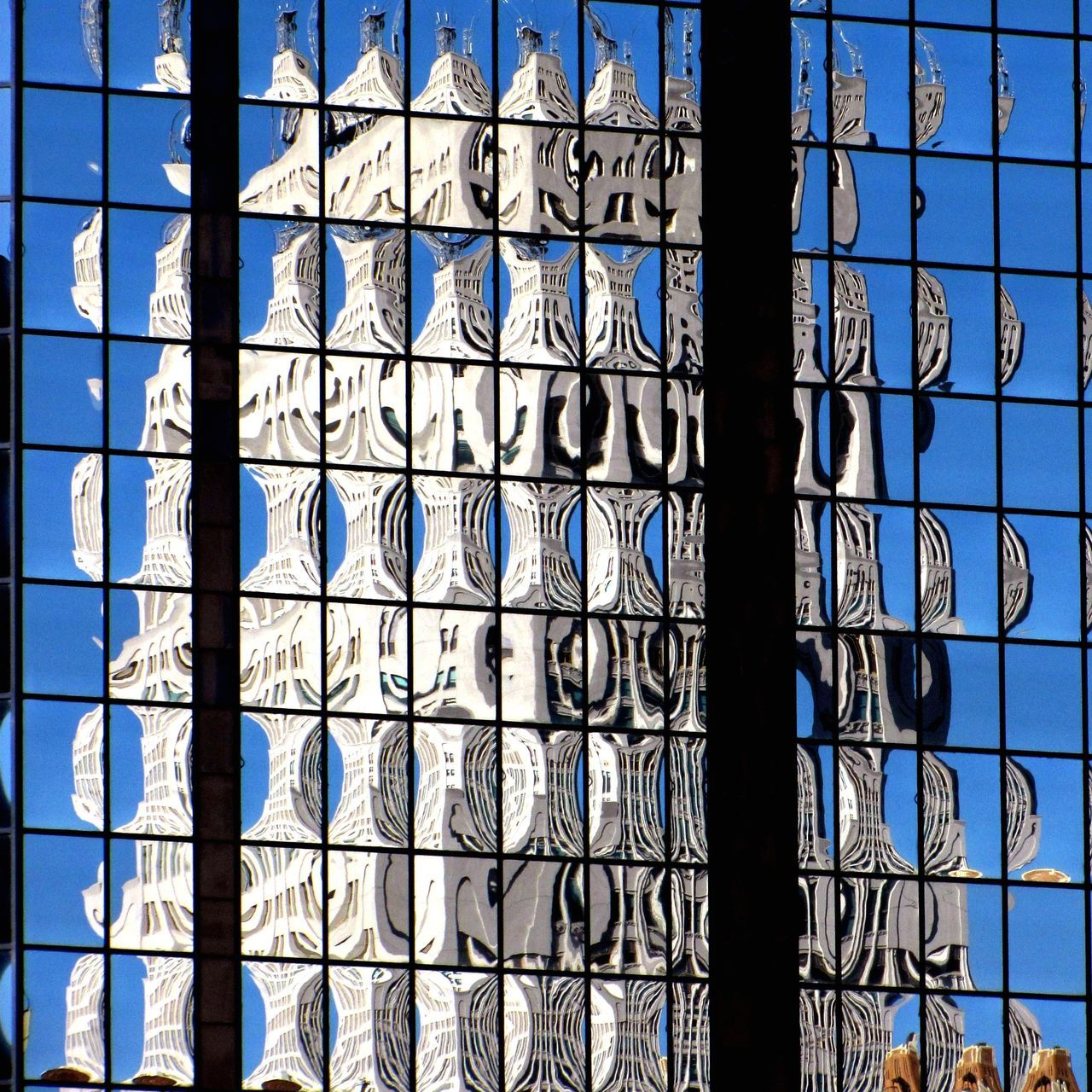 Abstract Architecture Backgrounds Built Structure Close-up Color Day Full Frame No People Outdoors Pattern Reflection Sky Window