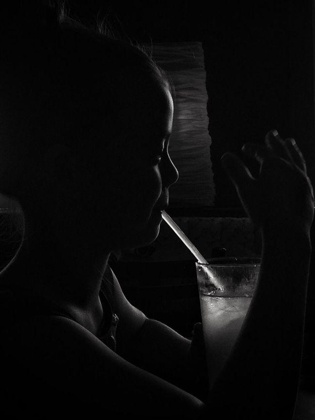 Blackandwhite Black And White Black & White Blackandwhite Photography Black And White Photography Black Silhouette Silhouettes People People Photography People Watching People Of EyeEm Profile Kid Kids Drink Refreshment