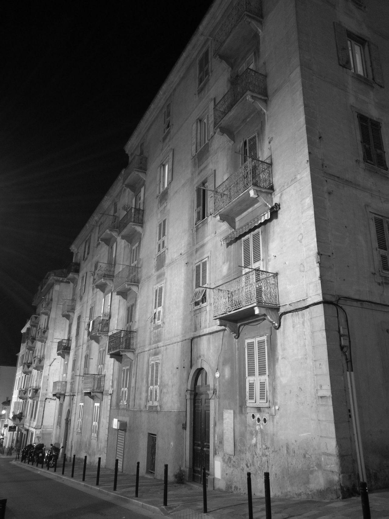Building Exterior Architecture Built Structure City No People Corse Ajaccio Nuit Photo De Nuit Ombres Et Lumières Nightphotography Light And Shadow City Night