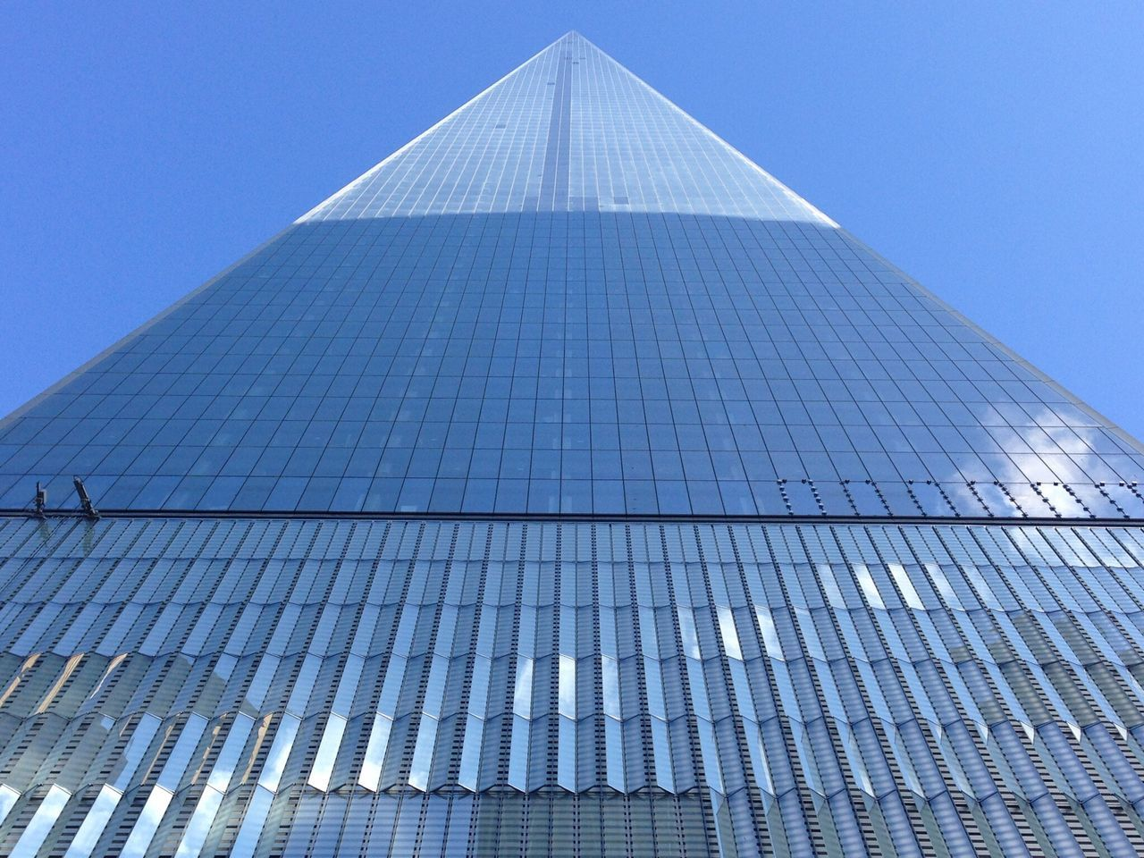 Architecture Modern Clear Sky Skyscraper Glass Tall No People Corporate Business New York