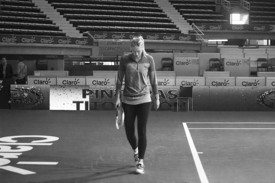 Portraits MariaSharapova Sports Life  Black And White