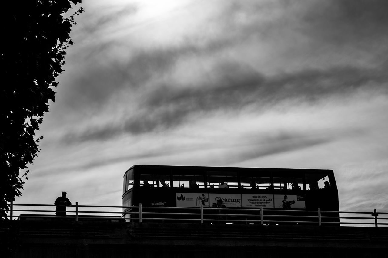 Adventure Alone In The City  Black And White City City Life Cloud - Sky Day Dramatic Sky ExploreEverything London London Bus London Lifestyle LONDON❤ Looking At View One Person Outdoors People Public Transport Silhouette Sky Sunset Tourist Travel Photography Uk Unrecognizable Person