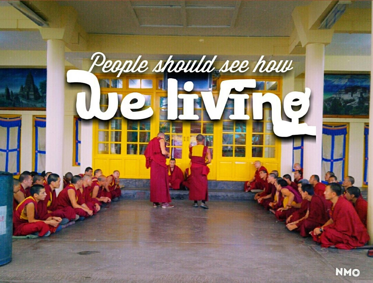 A beautiful LamaLife Freetibet Mcleodganj Religious  Buddha Oneplusone Imnmo