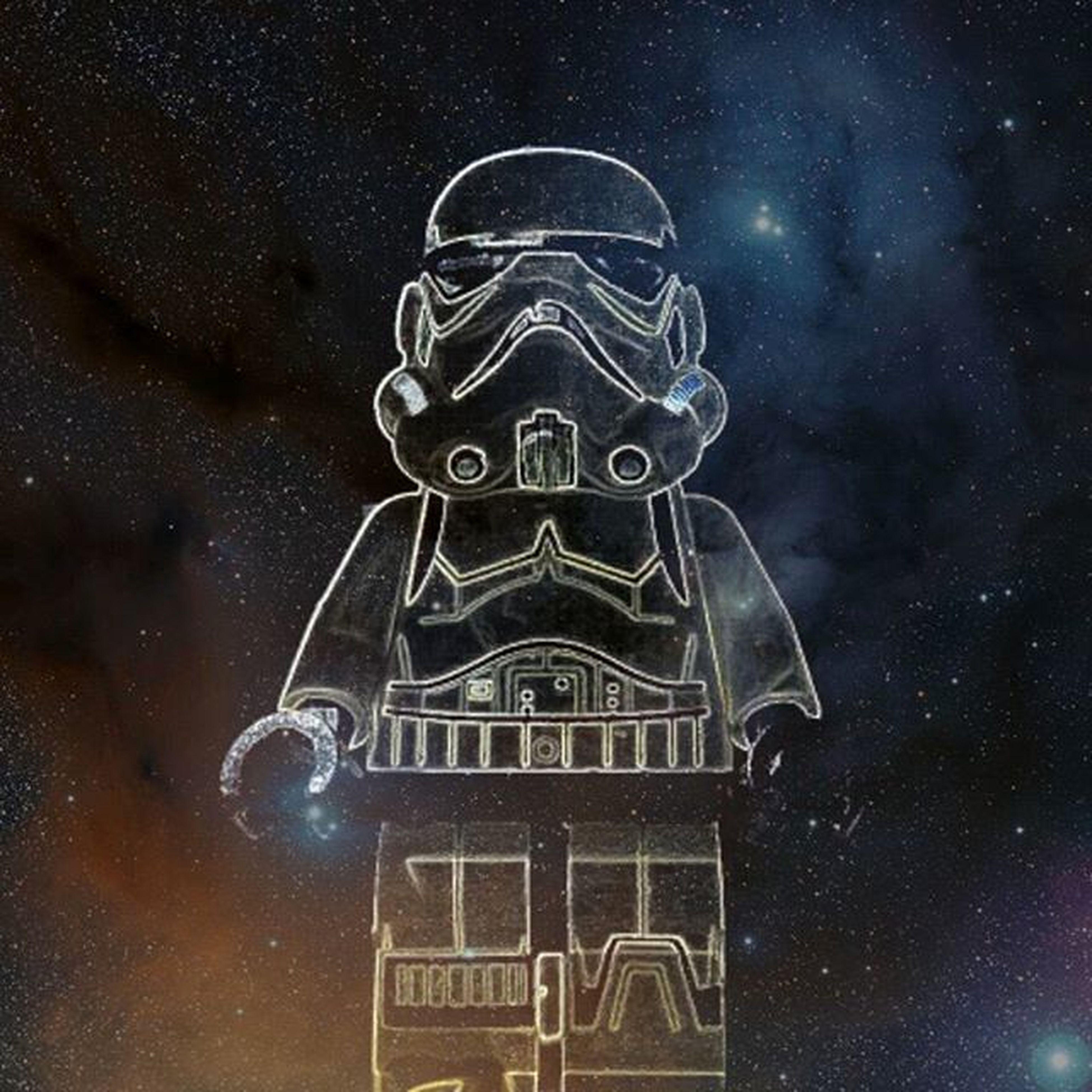Tron Trooper Stormtrooper Neon Daftpunk  Robot Electo Legostarwars Legography Abstract Glow Retro Edit Stars Galaxy Spacefxonetouchandroid Brickify LEGO Cool Instalego Digitalart  Future Astrophotography Funky