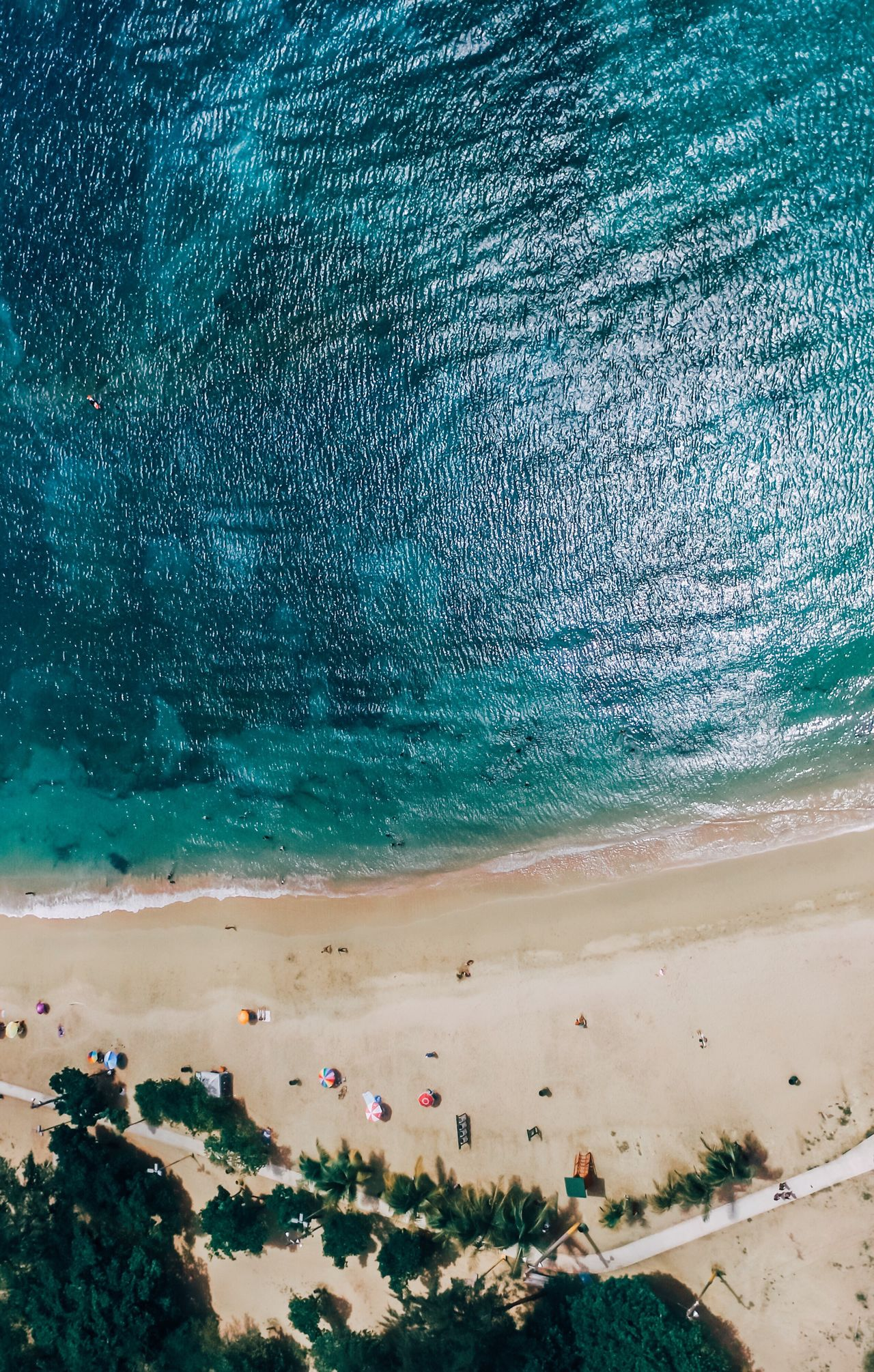 Aerial View Dronephotography Beach Sand Sea Water Nature Beauty In Nature Scenics Outdoors High Angle View Vacations Day Blue Travel Destinations Real People Wave Horizon Over Water Tree Sky Hot Spring Aerial Shot Aerial Photography Ocean View Drone