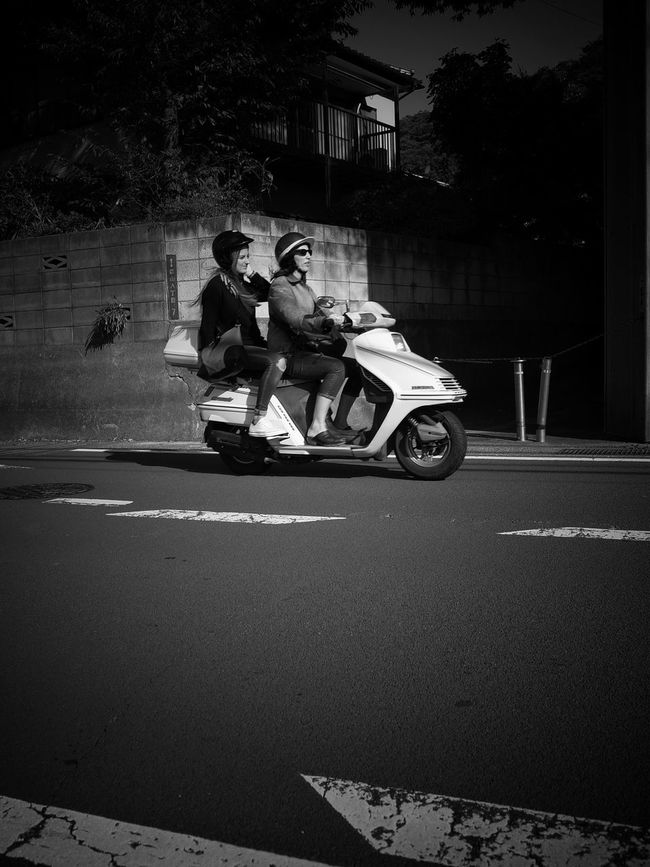 Streetphotography Street Photography Monochrome Black And White Motorcycle