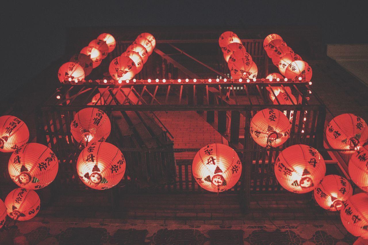 Beautiful stock photos of china, Abundance, Architecture, Building Exterior, Chinese Lantern