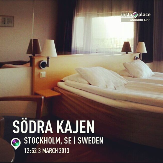 My last day here... Moving on to Scandic Malmen :-D Instaplaceapp @instaplaceapp Androidonly Androidnesia Stockholm Sweden