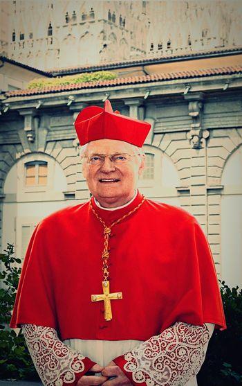 Cardinal Scola Di Milano✌🏽️⛪️