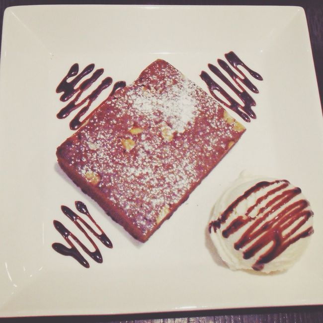 brownie @ My Cafe T-able
