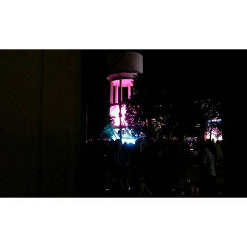 Le château d'eau by night 💙💜 Fun Raid Essted Amazing Concert