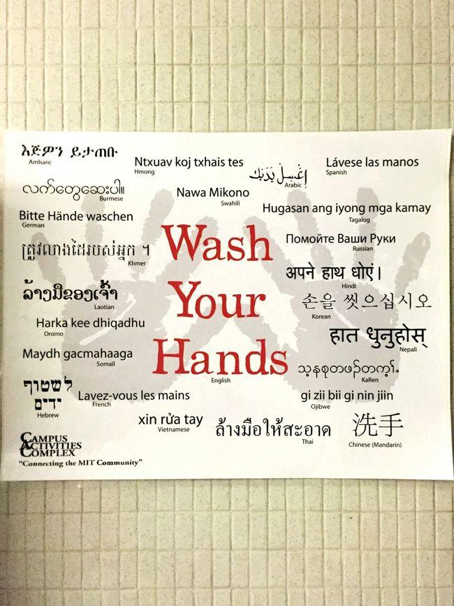 Diversity👐 Multilanguage International Washyourhands Diverse Multicultural