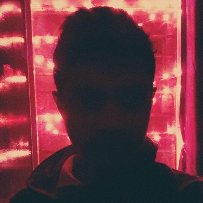 Blackred! Blackred Blackandwhite Photographyislifee Candycamera Lights Red Redhot Ghar Night Sodark Likes