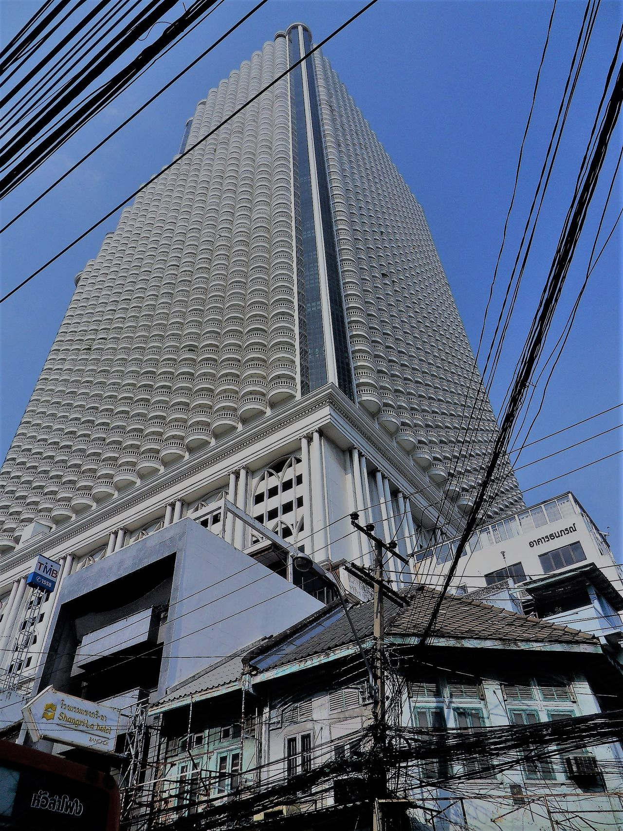 Architecture Bangkok City Life Bangkok Streetphotography Bangkok Thailand. Building Exterior Built Structure City Clear Sky Day Low Angle View No People Outdoors Sky