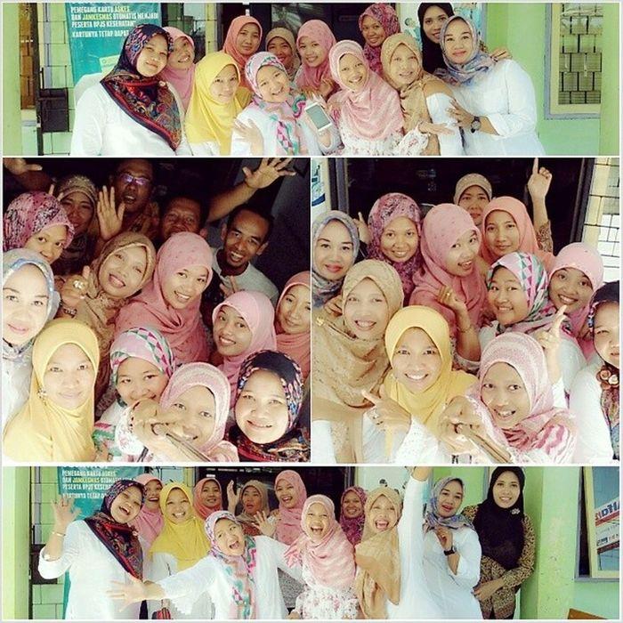 halal bihalal pkm kedaton 2014 Indahnyakebersamaan Halalbihalal Selfie