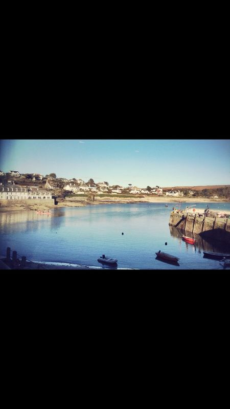 Harbour View Harbour Cornwall Uk Cornwall Beach Cornwall Life St Mawes Harbour Sea And Sky Sea Harbour Wall Boats Rowing Boat View From Above View From The Window... Sunset_collection Sunset Coastline Land And Sea Horizon Over Land
