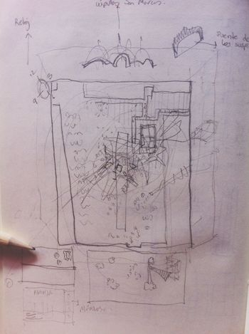 Architecture Drawing Pencil Sketch