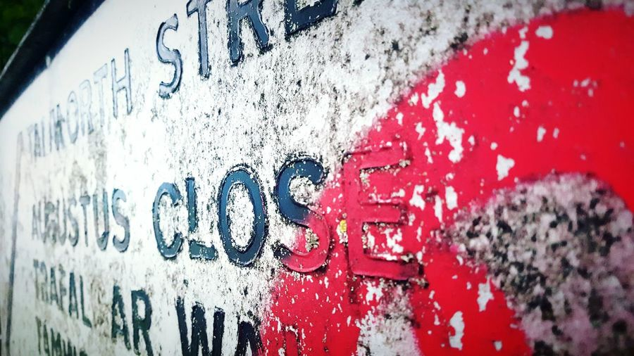 This Is Perspective day 26. Road Name Sign Up Close Dirty Graffiti Beauty In Ordinary Things Perspective