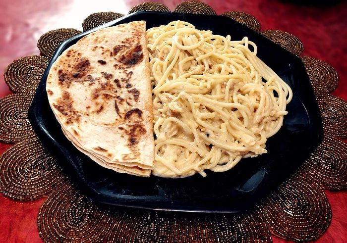 Quesadillas & AlfredoPasta ~ Quesadillas Food Chicken Alfredo Pasta