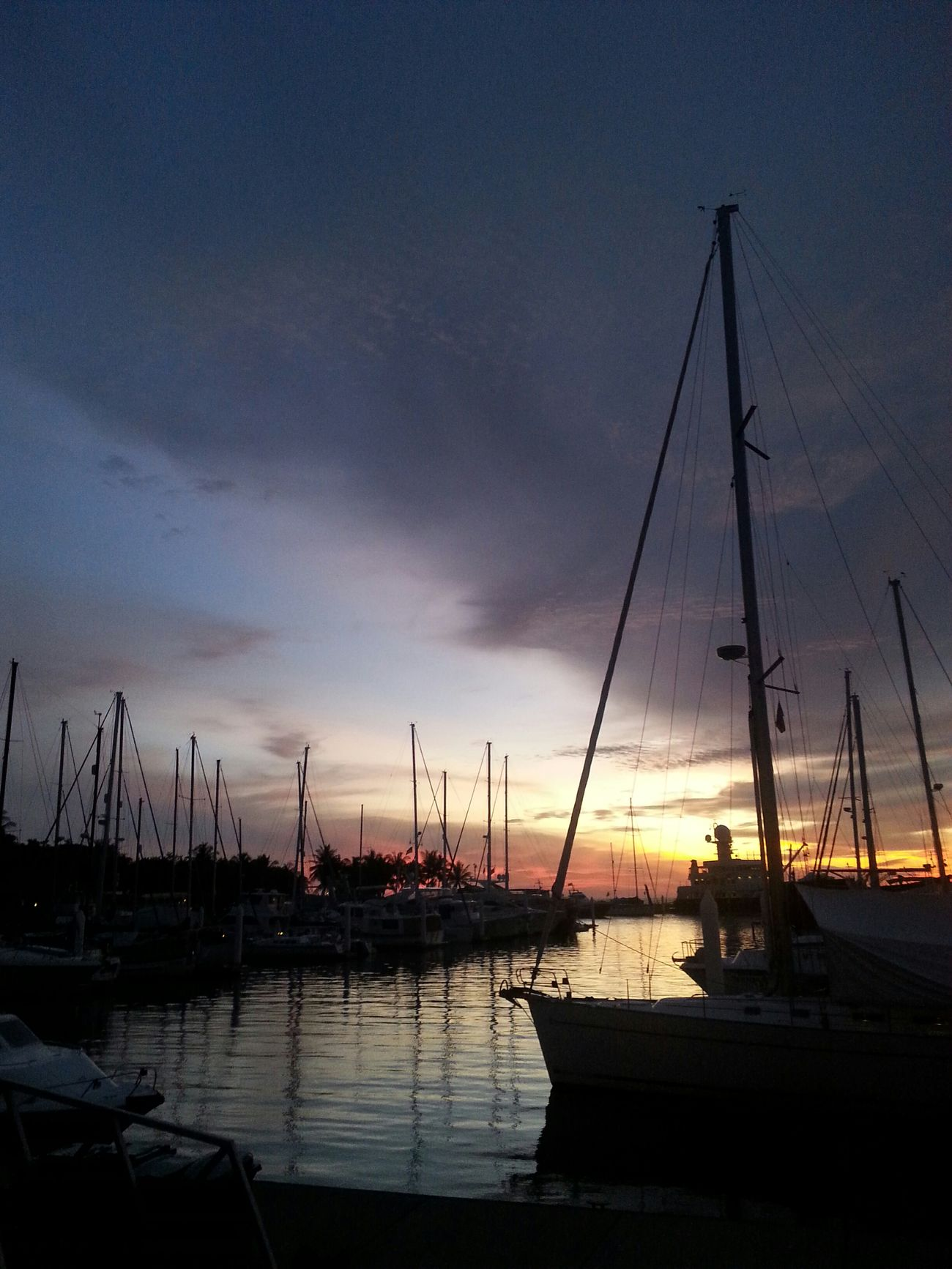 Sutera Harbour.Sabah. sorry for the pic quality.Sunset Lover Took By Phone