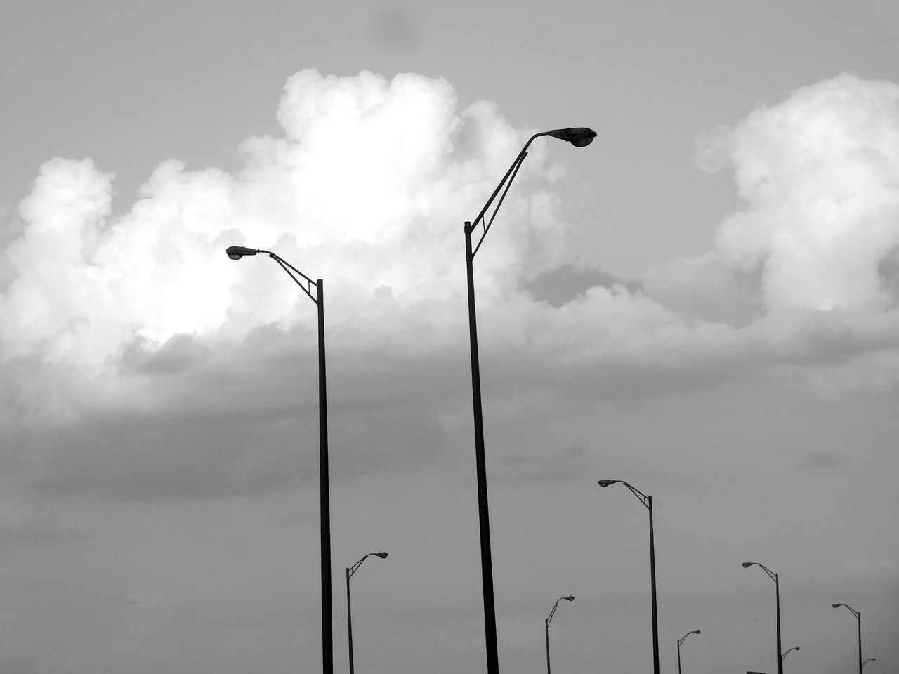 Monochrome Photography Blackandwhite Lightposts Darkness And Light On The Road Driving Streetphotography Notes From The Underground City Urban Exploration Highway I75 Traveling Tampa Tampa Fl Florida Random Acts Of Photography Floridaphotographer Through The Window Pattern Pieces Tampa, FL Sky