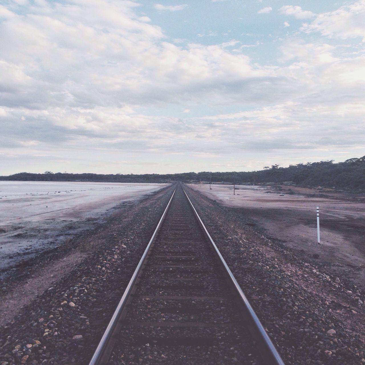 Saltlake And Traintrack
