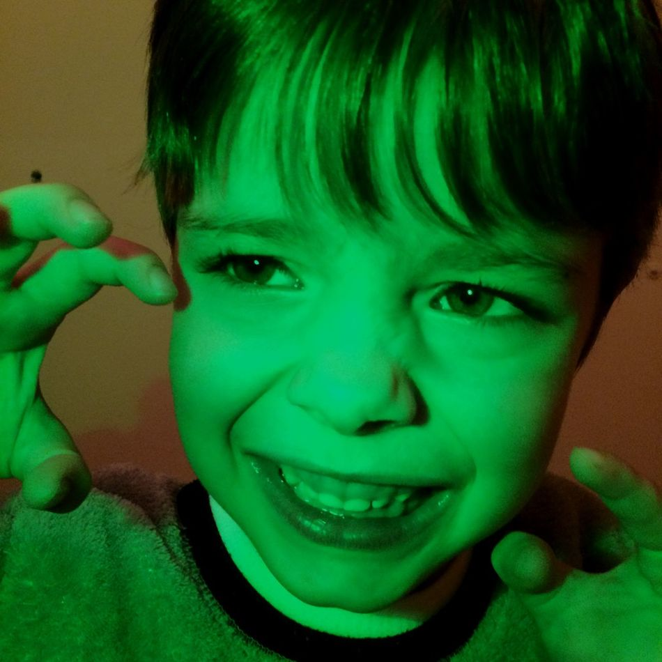 Kids Halloween Scary Monster
